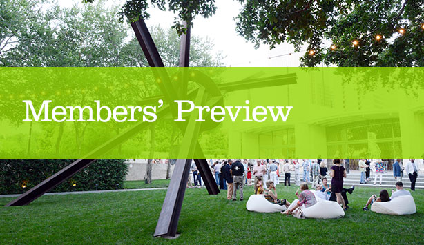 Roni Horn Members' Preview with Garden