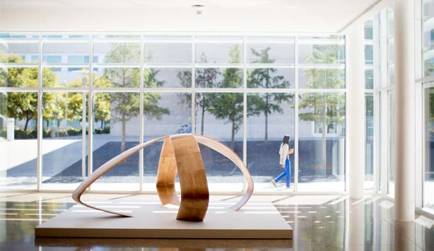 The Advocate highlights Liz Larner's Nasher XChange piece at the University of Texas at Dallas.