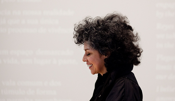 Doris Salcedo in profile