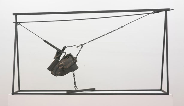 Melvin Edwards at the Nasher Sculpture Center