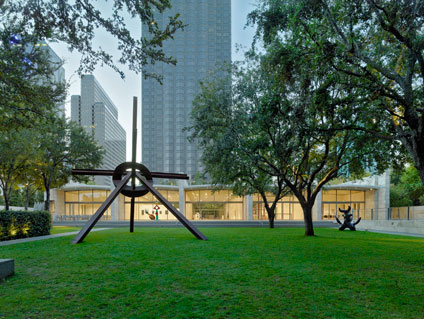 Nasher Sculpture Center garden with sculptures