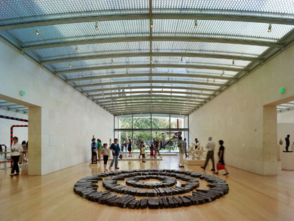 Richard Long's Midsummer Circles on view in the Nasher Galleries